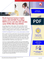 Reach important business insights sooner with Dell EMC PowerEdge R6515 servers and value SAS and data center NVMe SSDs from KIOXIA