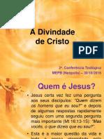 A Divindade de Cristo