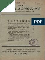 Revista Arhiva Somesana nr. 4 anul 1926