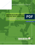 Situacion Educacion Tercera Edicion