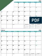 German calendar complete