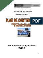Plan de Contingencia frente a Lluvias
