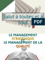 Management de la qualité et le management stratégique