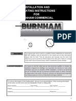 Manual -BOILER - BURNHAM COMMERCIAL