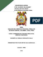 SISTEMA PROCESAL PENAL JUDICIAL DE ESTADOS UNIDOS