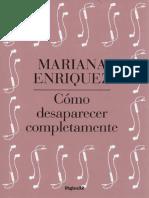 ENRIQUEZ Mariana - Como desaparecer completamente.pdf