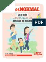 Guía Para La Educación en Equidad
