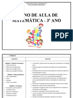 Plano de aula 3º ano atualizado