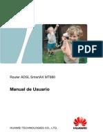 SmartAX MT880 ADSL Router User Manual-Spanish