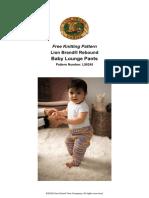 Baby Lounge Pants (Knit)