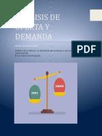 ANALISIS DE OFERTA Y DEMANDA OSCAR SALAZAR