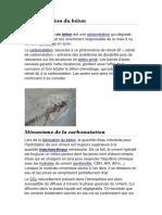 TP2 M1 Carbonatation Du Béton