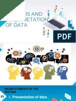 INQ INV IMM- ANALYIS AND INTERPRETATION OF DATA