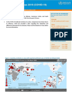 Coronavirus report - WHO - March 6, 2020