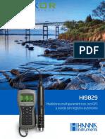 H.T - Multiparametros HANNA HI9829