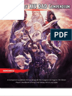 5th Edition D&D x FFXIV - Classes and Races Compendium _ GM Binder