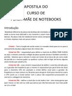 APOSTILA DO PLACA MÃE NOTEBOOK