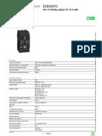 Tableros de distribución eléctrica NF_EDB34070