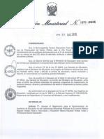 REGLAMENTO PARA EL NOMBRAMIENTO DE EXILIARES DE EDUCACIÓN