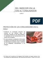 EL ROL DEL INDECOPI EN LA PROTECCION clase II-1