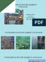 CONTAMINACION DE MARES Y OCEANOS