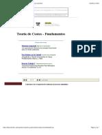 Teoría de Costos - Fundamentos2