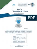 Endress Hauser - Transmisor de presion Cerabar PMC51