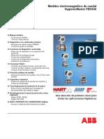 Medidor electromagnético de caudal HygienicMaster FEH500-Especificación Técnica