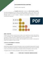 TÉCNICAS DE DEMOSTRACIÓN ALGORÍTMICA
