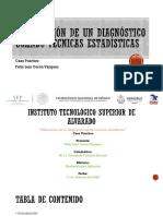 Elaboración de un diagnóstico usando técnicas estadísticas
