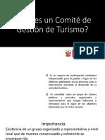 Qué es un Comité de Gestión de turismo