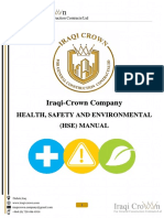 Health, Safety, and Environmental (HSE)