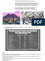 20 EMPRESAS MAS IMPORTANTES EN NUEVO LEON