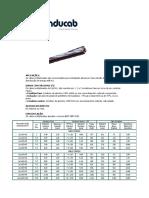 Anexo044-Cabos de Aluminio Quadriplex