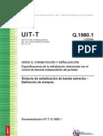 Especificacion SIP GTD