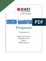 Proposal Final Sing