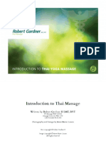 RGW Introduction to Thai massage workbook
