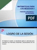 P_Sem7_Ses 14_ Función Creciente y Decreciente..