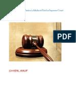Affidavit by CJP Iftikhar Chaudhry