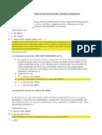 Examen Responsabilidad Social Empresarial y Gestión Ambiental