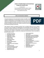 Appel de Propositions - SCEB 2011