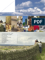 Creating Better Places to Live - A Guide to the Planning System in England