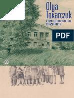 Tokarczuk Olga - Opowiadania bizarne