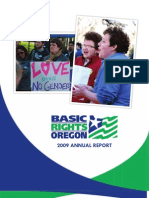 2009 Basic Rights Oregon Annual Report