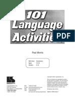 101 Language Activities
