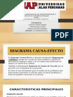DIAGRAMA CAUSA EFECTO