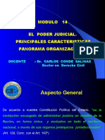 MODULO 14 - EL   PODER JUDICIAL. PRINCIPALES CARACTERISTICAS- TGP.ppt
