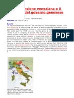L'espansione veneziana e il declino di Genova
