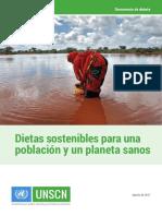 Dietas sostenibles
