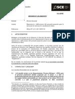 Opinión 122-12-PRE - Experiencia en consultoría de obras